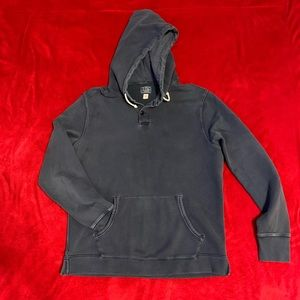 J. Crew vintage fleece navy hoodie Sz M